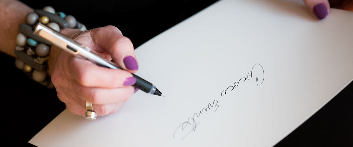 Cococo Events Handwriting